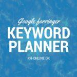 Google forringer Keyword Planner