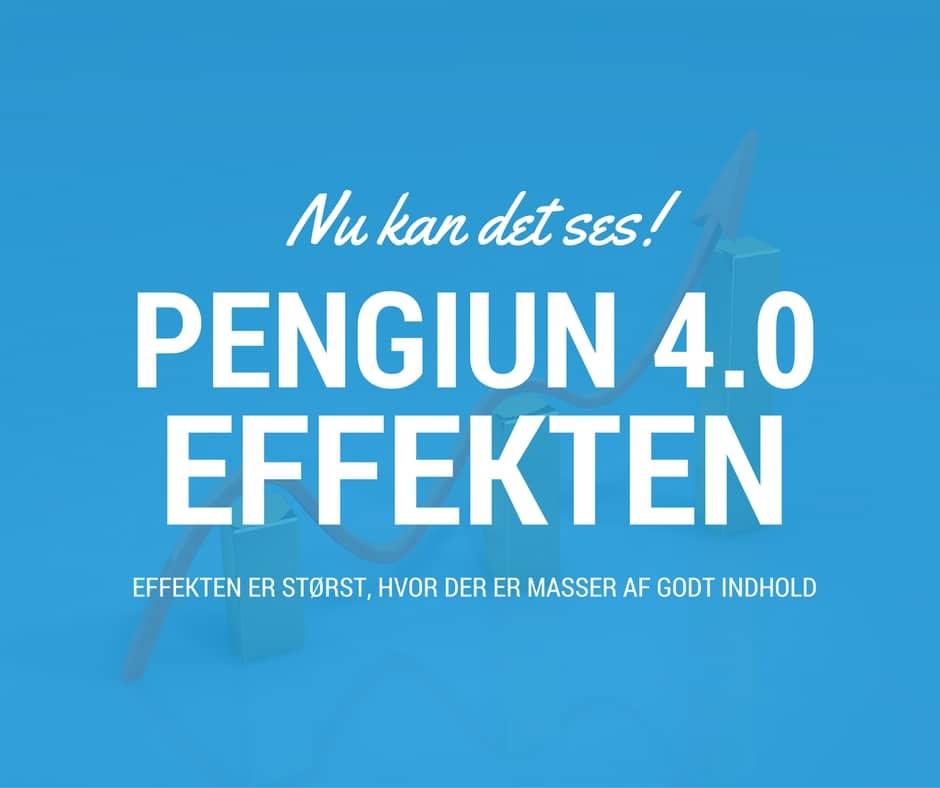 Så vild er Penguin 4.0 effekten!