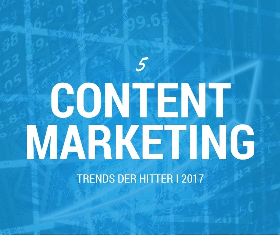 5 content marketing trends du bør overveje i 2017