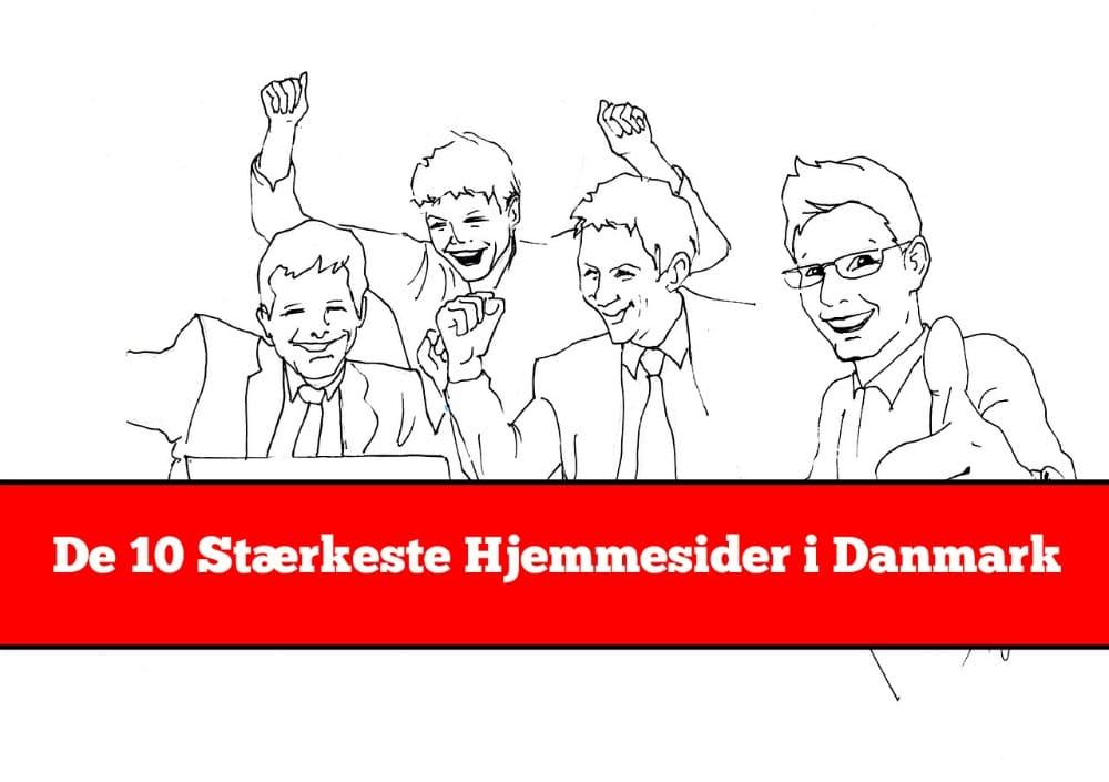 Liste: Danmarks stærkeste hjemmesider