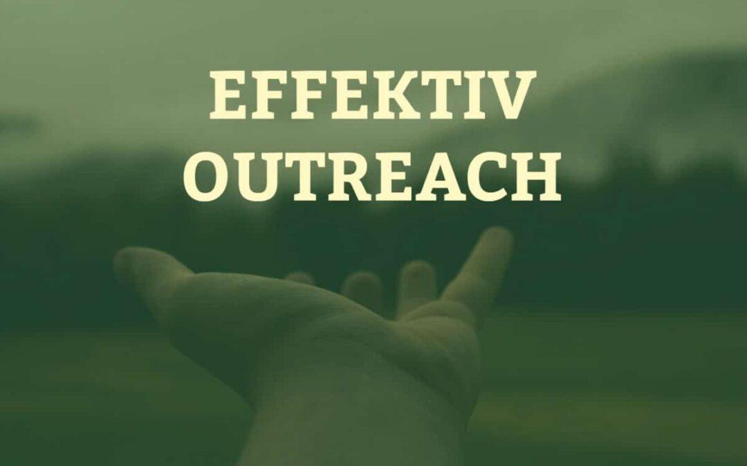 Effektiv outreach