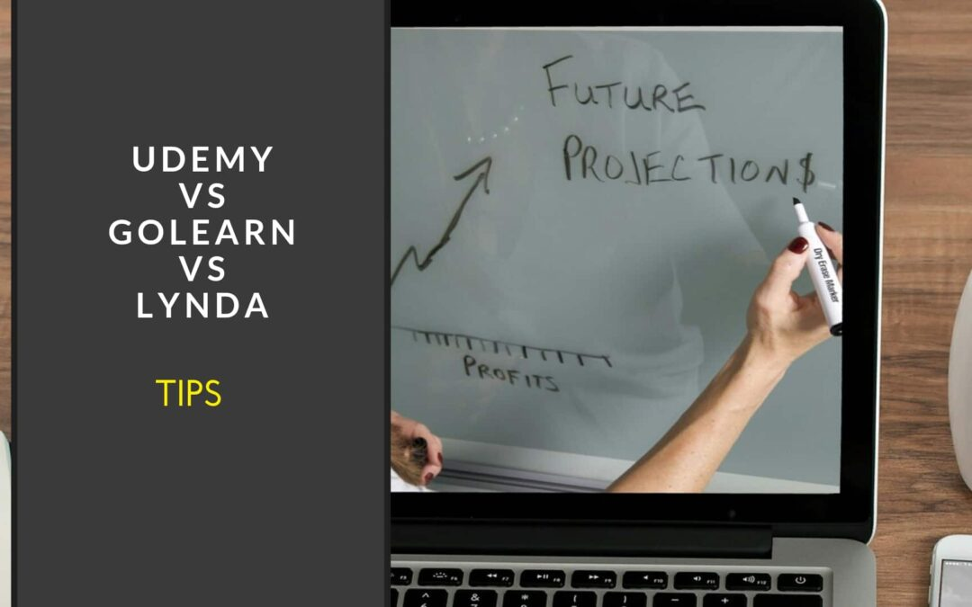 Udemy vs GoLearn vs Lynda