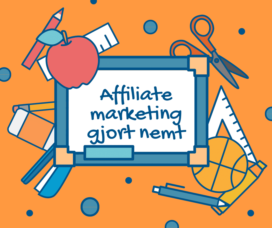 affiliate marketing værktøjer