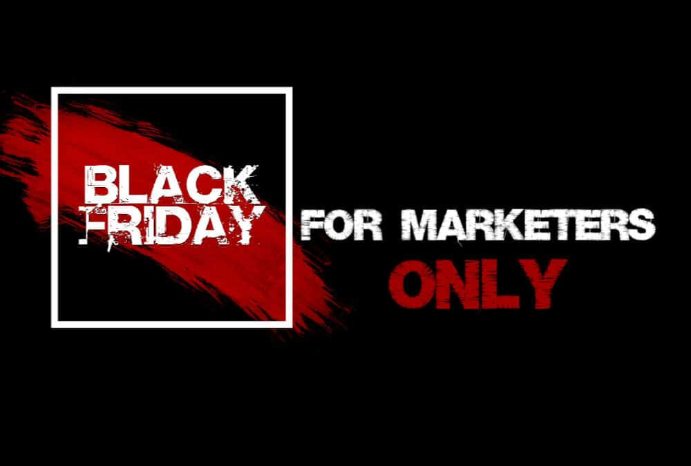 Black Friday tilbud for Online Marketers
