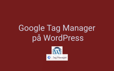 3 måder at installere Google Tag Manager på WordPress
